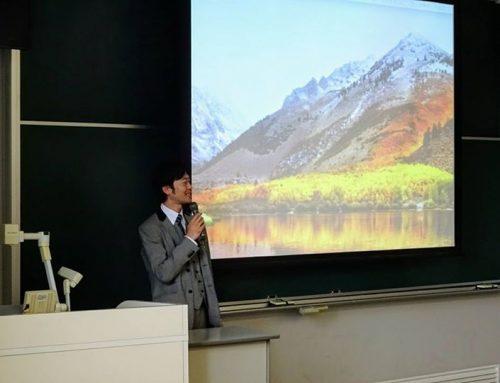 【東北文化学園大学・業界研究の講話に代表・高橋が登壇しました】