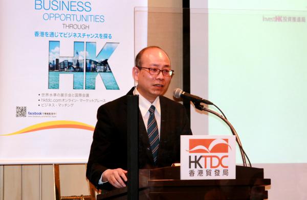 HKTDCベンジャミン・ヤウ主席