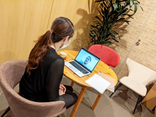 留学生採用オンラインインタビュー