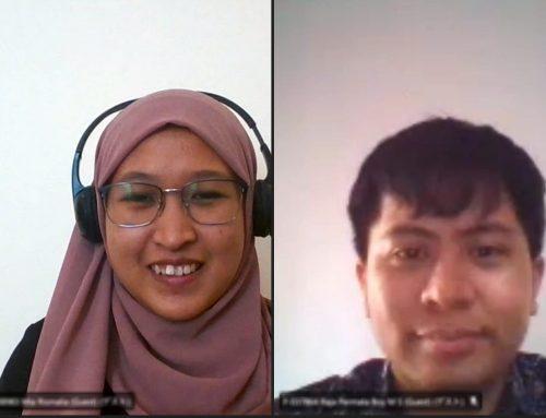 インドネシアからオンラインインターン生受入中です。